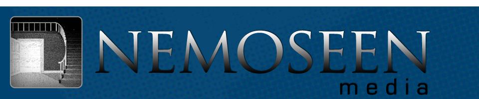 Nemoseen Media Logo Banner